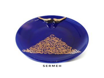 persian-Handmade Ceramic Tray