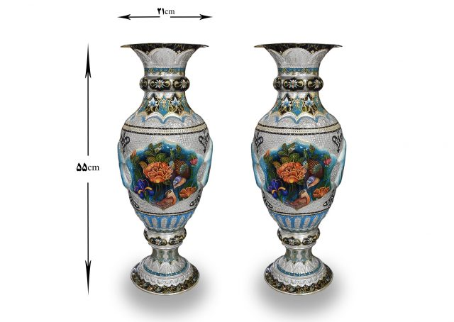 Persian Handmade Engraving Flower Vase