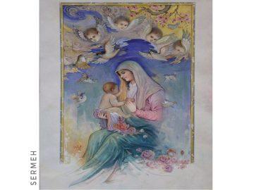 Miniature Persian Painting Art