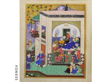 Persian miniature painting (negargari)