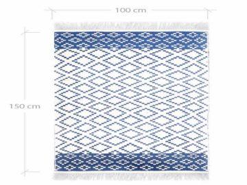 Handwoven Cotton Carpet Zilou