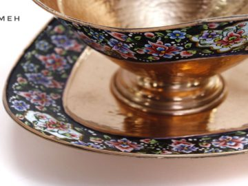 Isfahan's Painted Copper Crafts