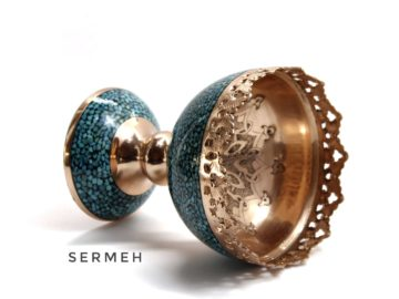 Turquoise-Stone& Copper (Firozekobi)