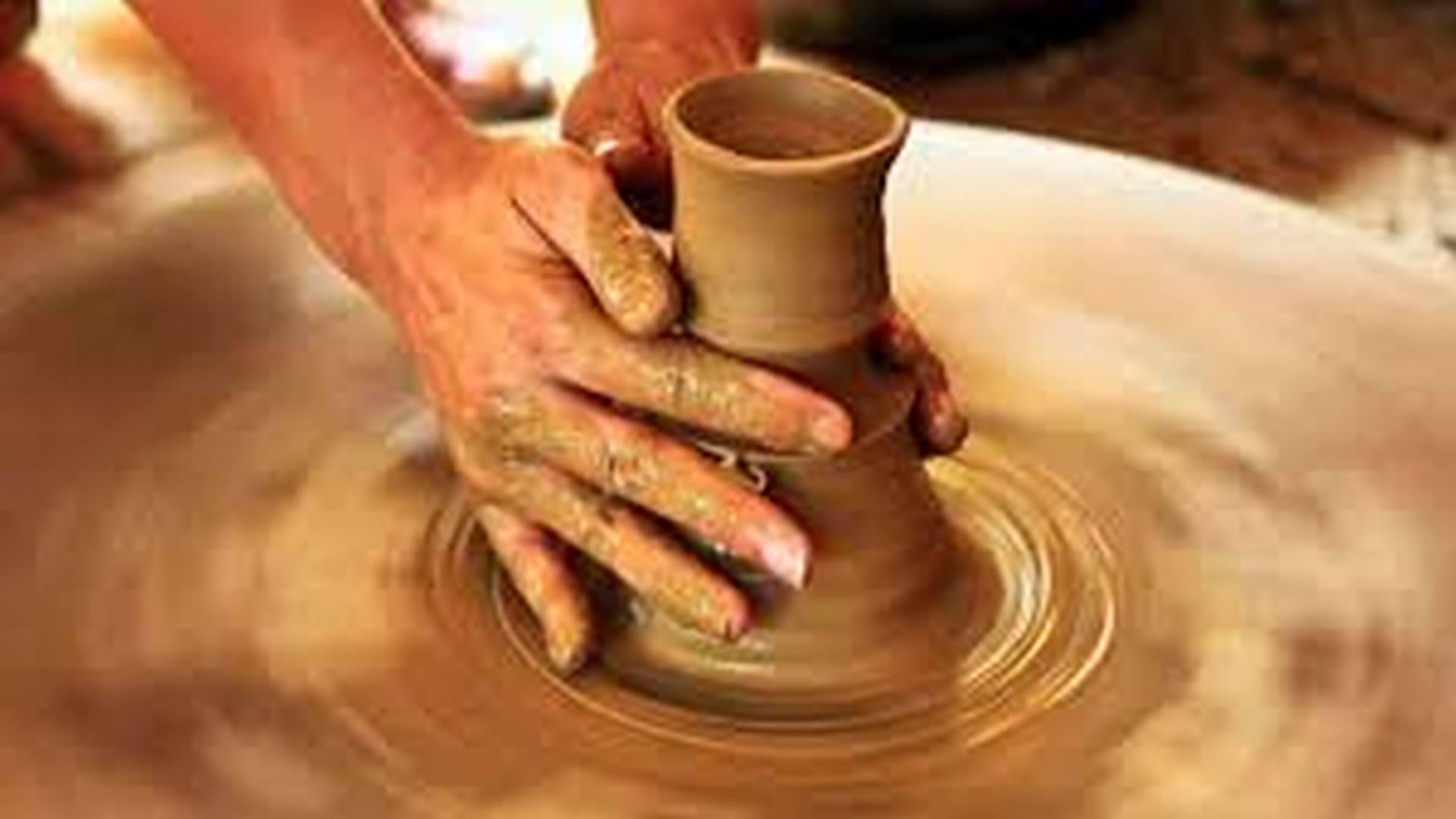 Handmade Lalejin Pottery-Persian Pottery